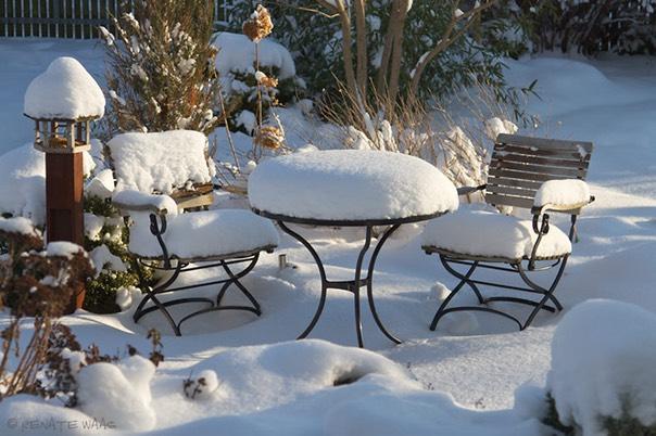 Schöner Garten Im Winter :)