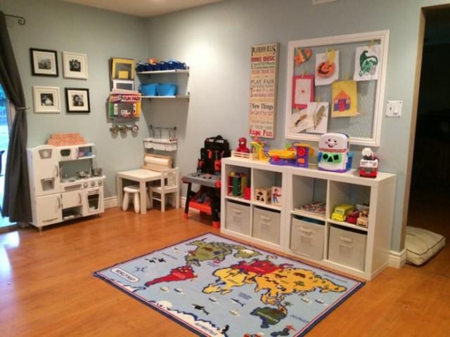 die spielecke im kinderzimmer fantasievoll und verspielt gestalten, Schlafzimmer design