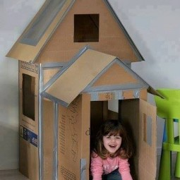 top kinderm bel aus karton basteln. Black Bedroom Furniture Sets. Home Design Ideas