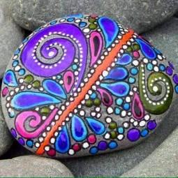 Nette kunstwerke aus steinen for Atemberaubende gartenideen