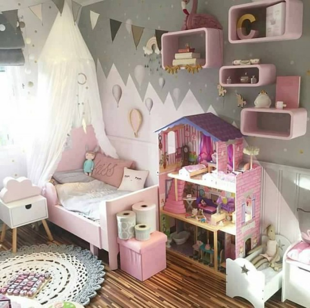 zauberhafte kinderzimmer. Black Bedroom Furniture Sets. Home Design Ideas