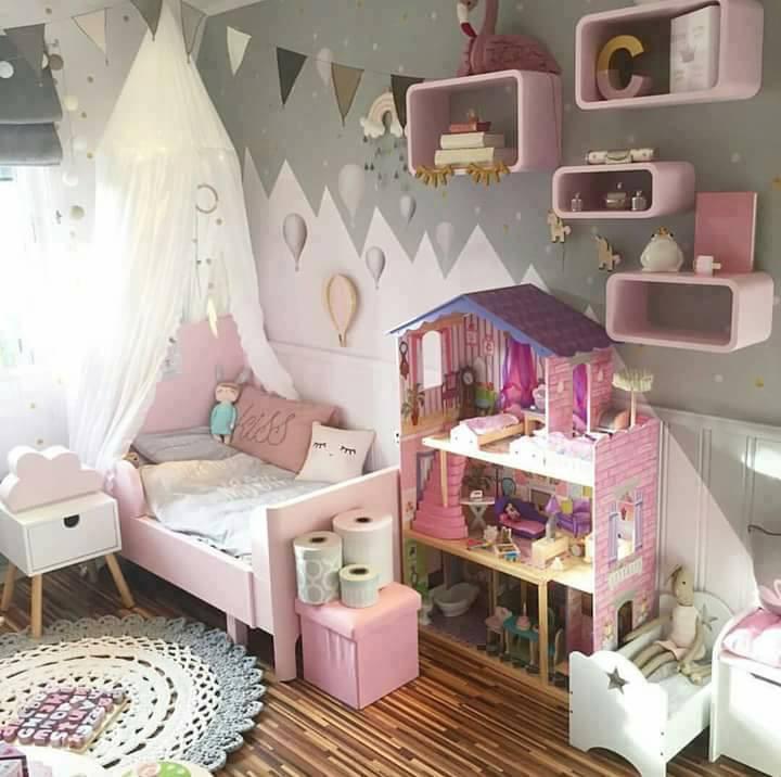zauberhafte kinderzimmer. Black Bedroom Furniture Sets. Home Design Ideas