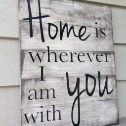 18 wood signs ideas homebnc.jpg