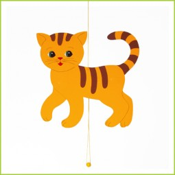 Berühmt Nette Bastelidee: Süße Kätzchen aus Papier basteln :) - nettetipps.de YU76