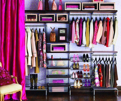 Praktische Ideen Wie Man Den Kleiderschrank Organisieren Kann