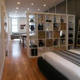 einzimmerwohnung praktisch einrichten. Black Bedroom Furniture Sets. Home Design Ideas