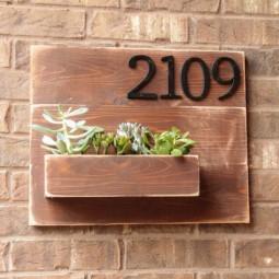 Address number wall planter diy 500x704.jpg