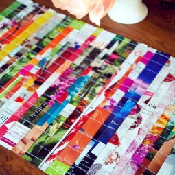 Cute placemats made from magazines.jpg