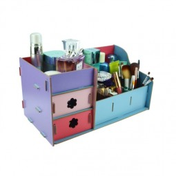 Diy bathroom organization ideas inexpensive makeup and jewelry organizer kit easy to put together and available in your choice of colors.jpg