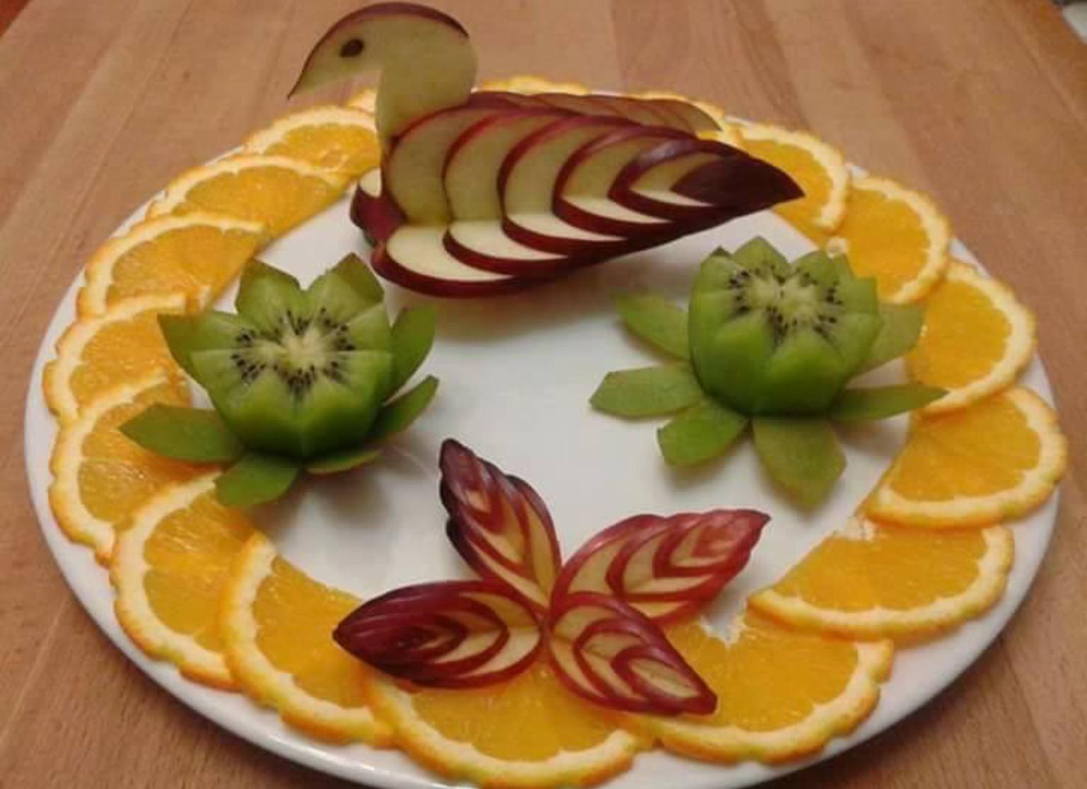 Leckerer Obstteller Kreativ Anrichten Nettetipps De