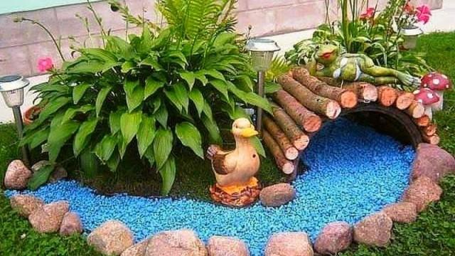 Kreative Ideen für Garten-Dekorationen :) - nettetipps.de