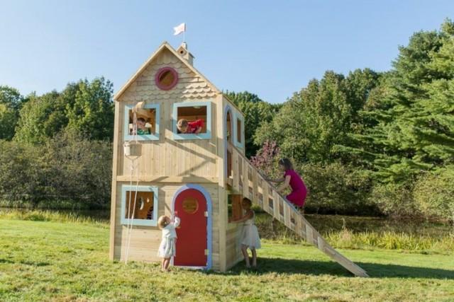 coole spielhäuser für garten :) - nettetipps.de, Schlafzimmer design