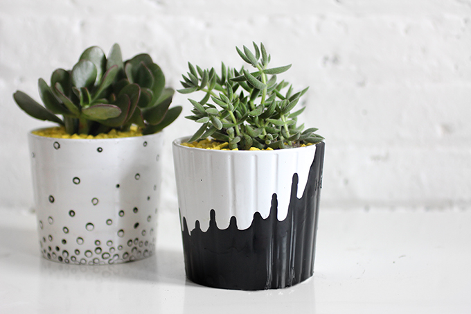 What Paint To Use On Ceramic Plant Pots