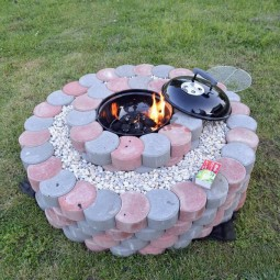 13 diy firepit ideas homebnc.jpg