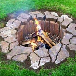 16 diy firepit ideas homebnc.jpg