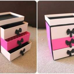 upcycling ideen aus pappe und alten boxen. Black Bedroom Furniture Sets. Home Design Ideas