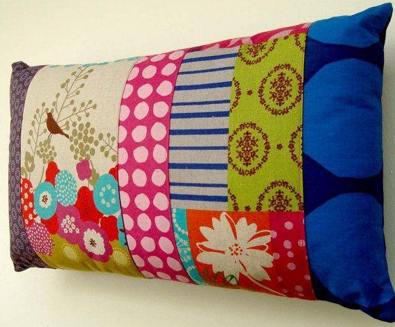 patchwork polster selber machen. Black Bedroom Furniture Sets. Home Design Ideas