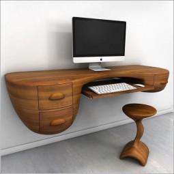 Computertisch design  Computertisch Design - tolle Ideen für Ihren Schreibtisch mit Stil ...