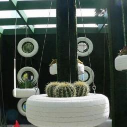Alte Reifen - Nettetipps.de Gartendekoration Mit Reifen