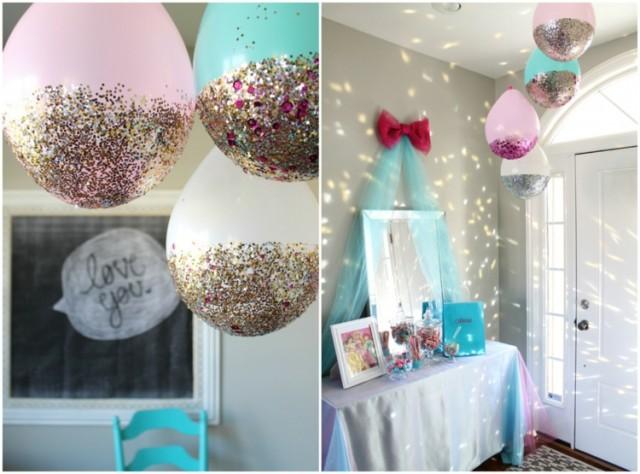 coole partydeko aus luftballons. Black Bedroom Furniture Sets. Home Design Ideas