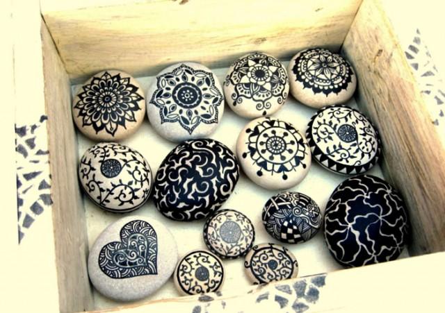 bemalte steine basteltipps steine bemalen bastelidee jpg
