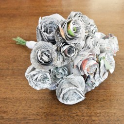 Bouquet from newspapers.jpg