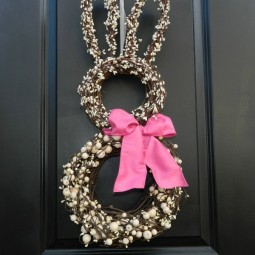 Bunny wreath door decoration so cute 1.jpg