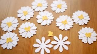Fruehling spring oster fensterbild fensterdeko fenster dekoration pastell blumen stanzer einfach kleben cardstock papier gaensebluemchen 1.jpg