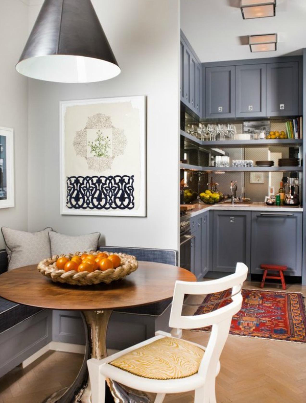 statt esszimmer kleine essecke in der k che gestalten. Black Bedroom Furniture Sets. Home Design Ideas