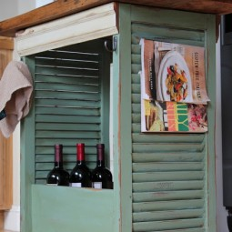 Kitchen island made from shutters and repurposed wood.jpg