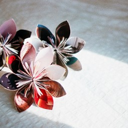 Make a recycled magazine flower.jpg