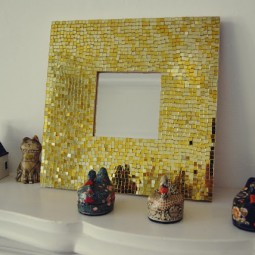 Make your own gold mosaic mirror.jpg