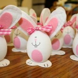 Osterdeko mit kindern basteln eier hase malen filz ohren.jpg