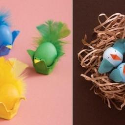 Ostereier dekorieren vogelnest osterkuecken basteln.jpg