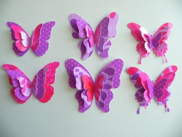 Wunderbare Schmetterlinge Aus Papier Falten Nettetippsde
