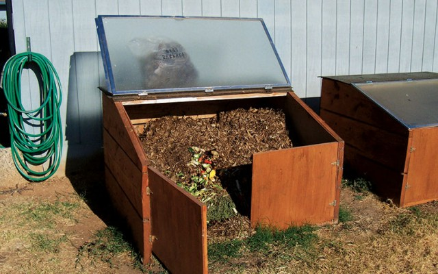Upcycle an old shower door into a compost bin.jpg