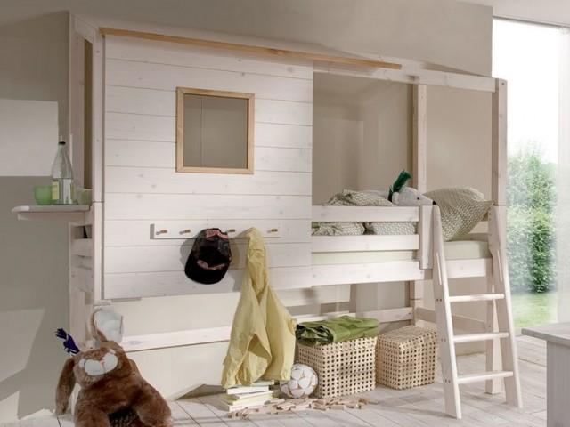 kreative kinderbetten als baumh user. Black Bedroom Furniture Sets. Home Design Ideas