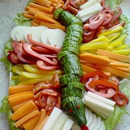 Tolle Gemüseplatten Für Kinder Party Nettetippsde