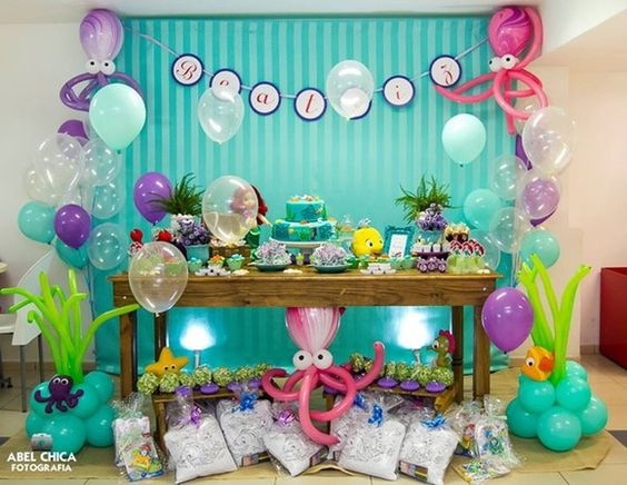 Deko ideen f r eine baby shower party - Baby shower party ideen ...