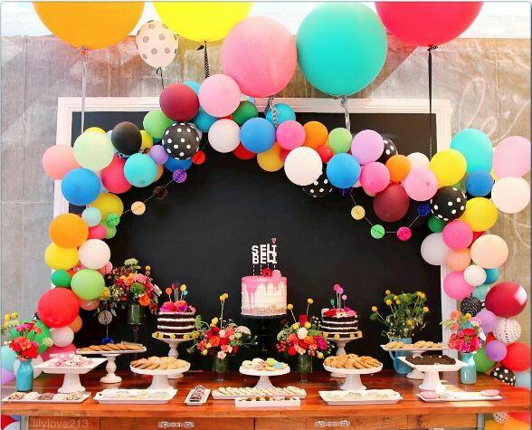Festliche deko mit ballons for Festliche deko