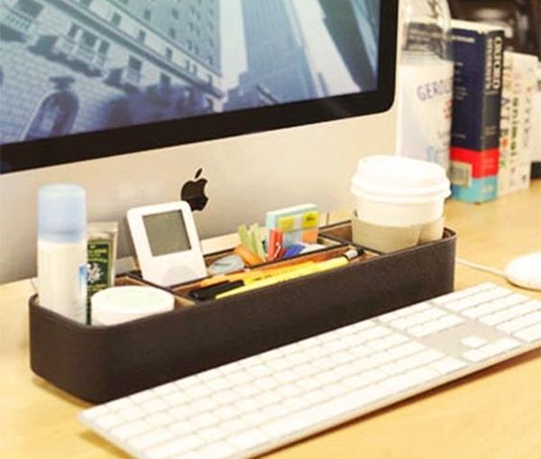 ein paar ideen zur schreibtisch organisation. Black Bedroom Furniture Sets. Home Design Ideas