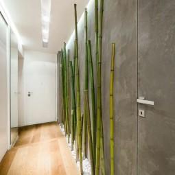 Bambusstangen flur dekorieren bambus deko.jpg