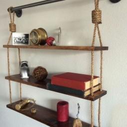 nautische ideen mit seil dekoration. Black Bedroom Furniture Sets. Home Design Ideas