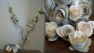 Wohnung dekorieren ideen selber machen wenig geld papier .jpg
