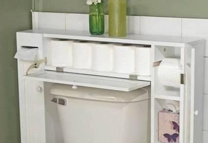 alles was man im badezimmer braucht platzsparend lagern. Black Bedroom Furniture Sets. Home Design Ideas