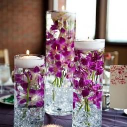 Deko mit blumen orchideen - Deko orchideen ...