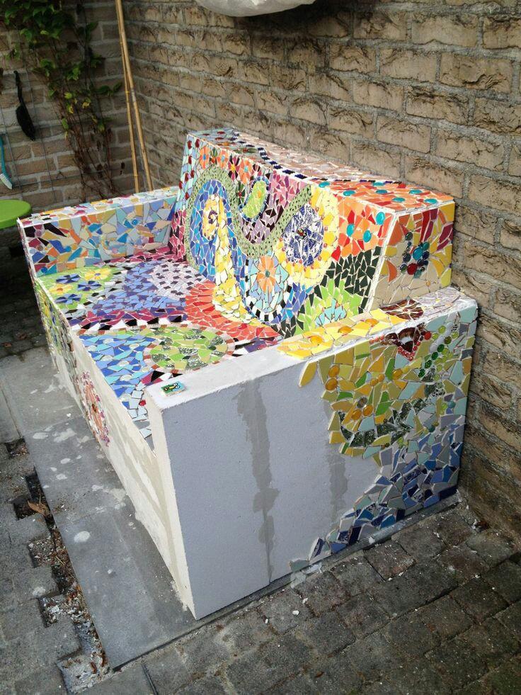 Mosaik deko f r euren garten - Garten mosaik ...