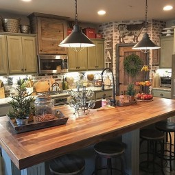 99 farmhouse kitchen ideas on a budget 2017 7.jpg
