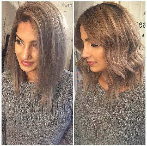 A line lob haircut wavy shoulder length hairstyles 2017 1.jpg
