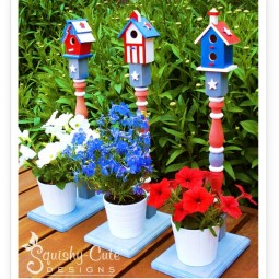 Adorable bird houses and stands for your plants in one.jpg
